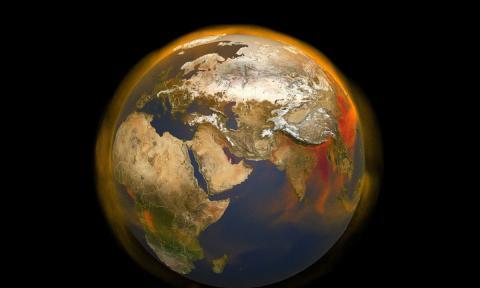 Ver el coronavirus desde el espacio: menos contaminación