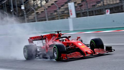 Vettel Ferrari F1 2020