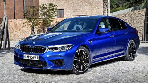 azul electrico lujo altas prestaciones sedan