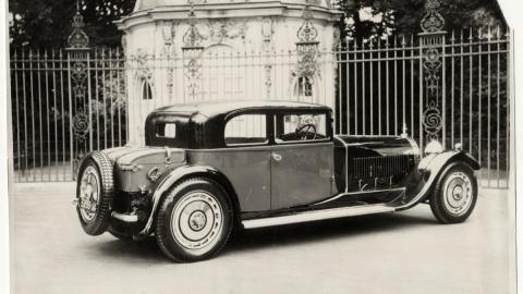 lujo deportivo roadster weymann prototipo