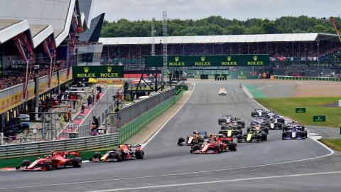 Circuito Silverstone F1