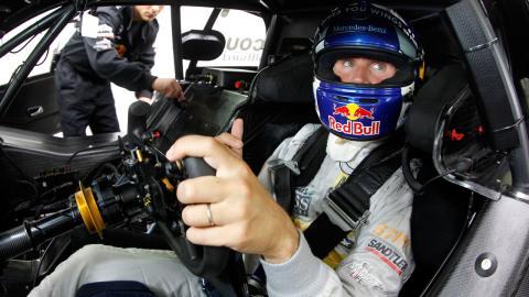 David Coulthard en su Mercedes del DTM
