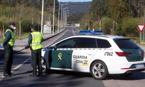 Guardia Civil coronavirus