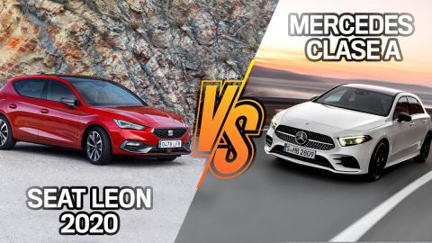 Mercedes Clase A vs Seat Leon 2020