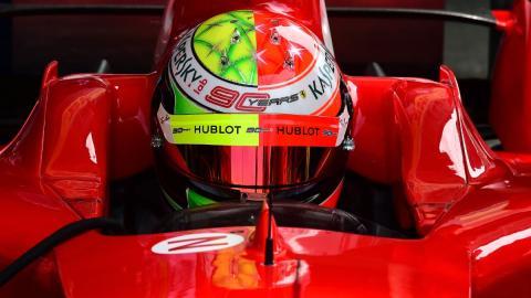 Mick Schumacher Ferrari GP Alemania 2019