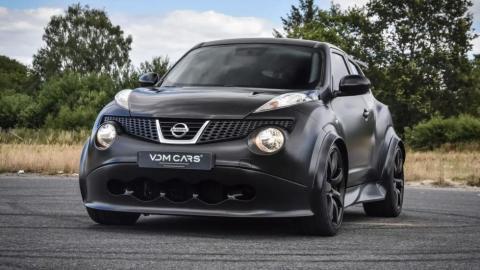 Nissan Juke-R con motor de GT-R
