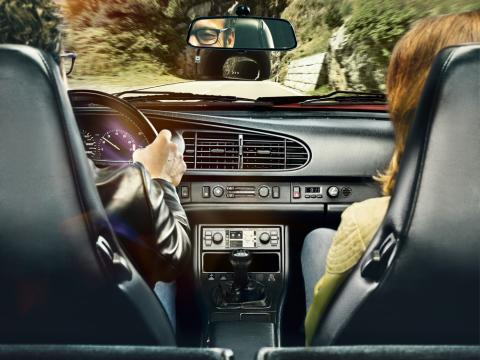 Porsche autorradio retro PCCM