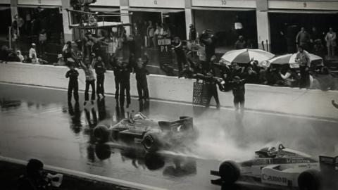 Primera victoria Ayrton Senna