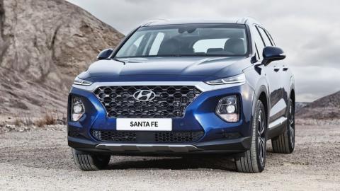 Así es la actual generación del Hyundai Santa Fe