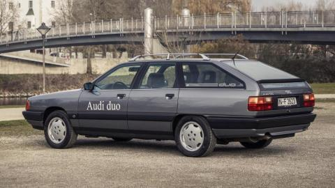 Audi Duo híbrido enchufable