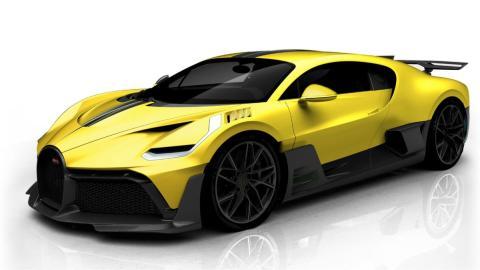 Configuraciones reales Bugatti Divo