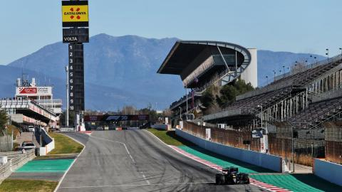 F1 Montmeló circuito