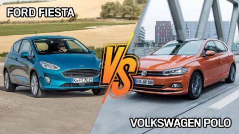 Ford Fiesta vs Volkswagen Polo