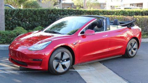 Galería: Tesla Model 3 Cabrio