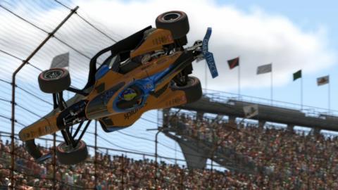 Lando Norris en la Indycar virtual