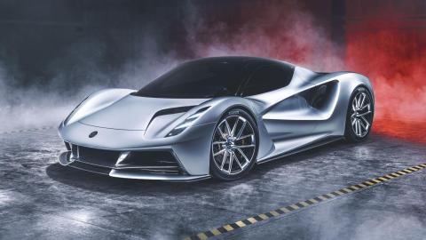 Lotus Evija aerodinámica caza combate