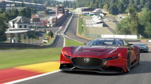 gran turismo sport videojuego coches futuro