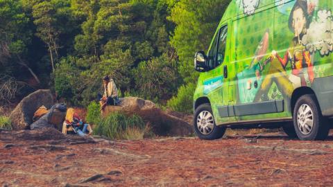 Parques naturales visitar camper caravana