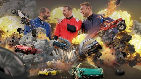 Promo Top Gear en televisión 12 de mayo