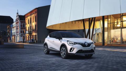 Fotos exteriores del Renault Captur E-Tech híbrido enchufable