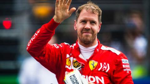 Sebastian Vettel ruptura Ferrari