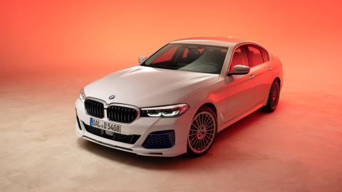 Basado en el BMW 540d
