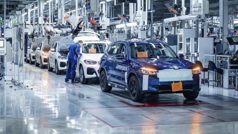 Modelos preserie del SUV eléctrico de BMW