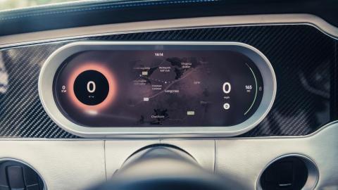 Detalles: Ford Mustang Eleanor eléctrico