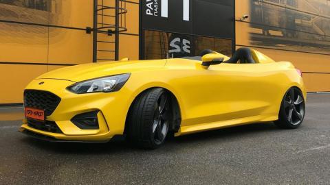 ¡Una preciosa carrocería Speedster en un Focus!