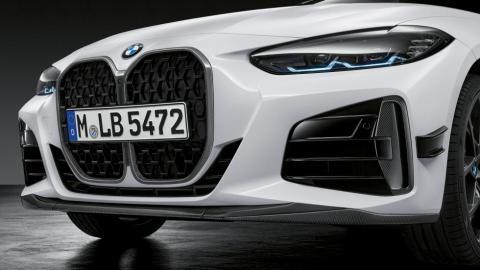 Galería: BMW Serie 4 con partes M Performance