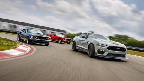 Un paso intermedio entre los V8 y los GT350