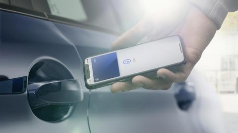 tecnologia NFC BMW connected services futuro tecnologia
