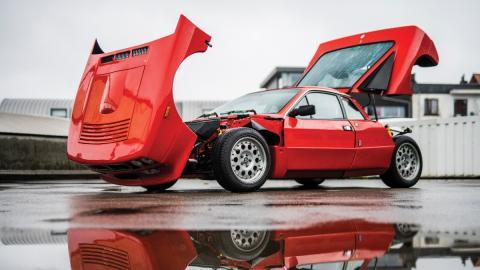 deportivo clasico italiano pedigree wrc rally