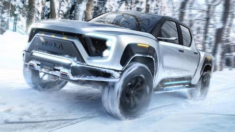 pick-up electrica electricos coches suv todoterreno
