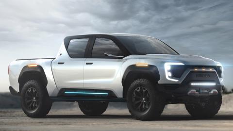 pick-up electrica electricos coches suv todoterreno