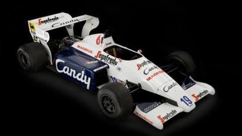 Subasta primer coche Ayrton Senna