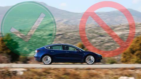 Tres Tesla que nos quedaríamos, uno que no y otro que ni fu ni fa
