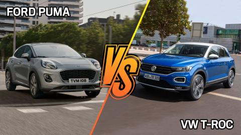Volkswagen T-Roc vs Ford Puma