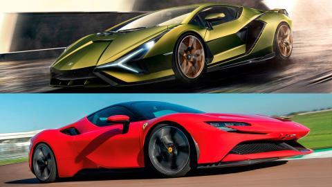 deportivos superdeportivos hibridos futuro lujo