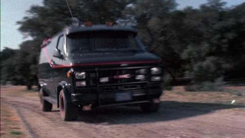 furgoneta del Equipo A