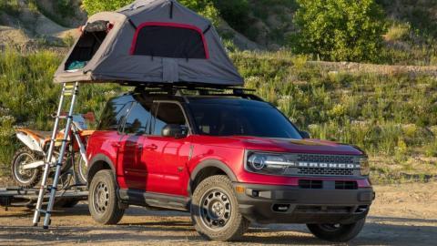 Galería: accesorios e interior del nuevo Ford Bronco