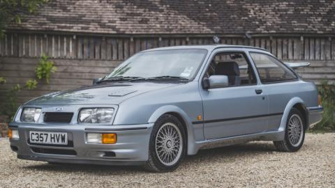 Galería: Ford Fiesta RS Cosworth preproducción subasta