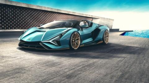 Galería: Lamborghini Sián Roadster