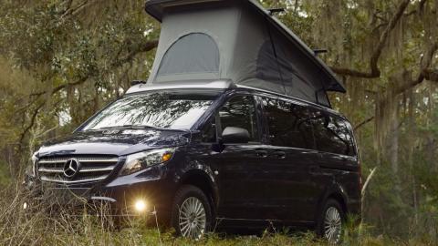 Galería: Metris Weekender, la camper de lujo de Mercedes
