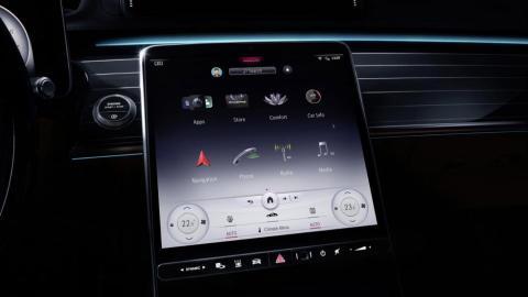 Galería: pantalla MBUX nuevo Mercedes Clase S