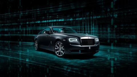 Galería: Rolls-Royce Wraith Kryptos Collection