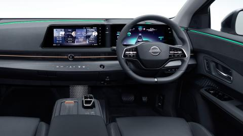 Interior Nissan Ariya 2021