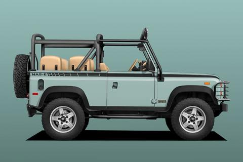 land rover defender electrico