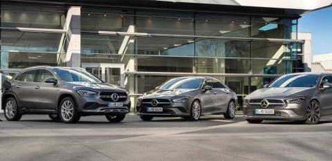 Mercedes hibridos enchufables