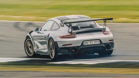 Pistones impresos 3D potencia Porsche 911 GT2 RS